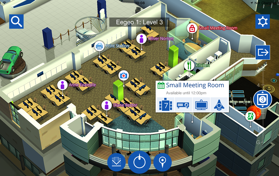 small meeting room details